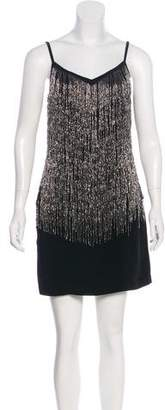 Laundry by Shelli Segal Beaded Mini Dress
