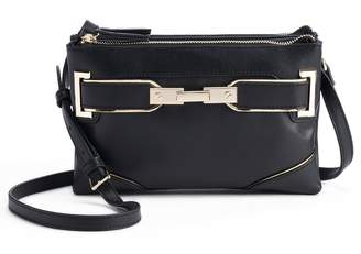 JLO by Jennifer Lopez Lola Double-Entry Mini Crossbody Bag