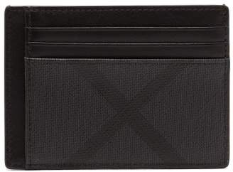 Burberry - London Checked Cardholder - Mens - Black Grey