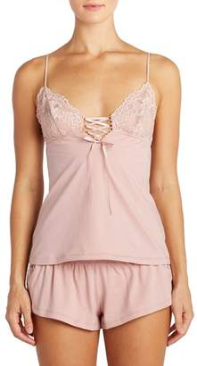 Cosabella Bisou Lace-Up Camisole