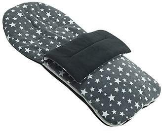 babystyle Fleece Footmuff Compatible with Lux - Grey Star