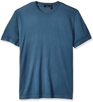 Theory Men's Veloy Leden Luxe Merino Short Sleeve