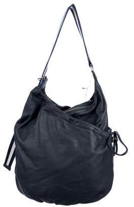 Marc Jacobs Grained Leather Hobo Navy Grained Leather Hobo