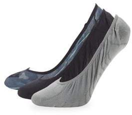 Sperry Three-Pack Micro Liner Socks