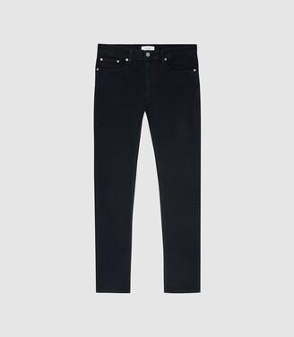 Bruce - Slim Fit Jeans in Navy