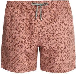 Stella Mccartney - Mosaic Print Swim Shorts - Mens - Light Pink