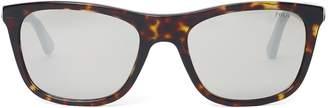 Ralph Lauren Reflective-Lens Sunglasses