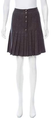 Boy By Band Of Outsiders Wool Pleated Skirt