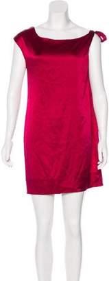 Miguelina Sleeveless Silk Dress
