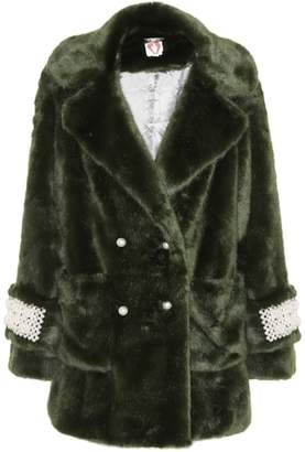 Shrimps Gavin faux-fur coat