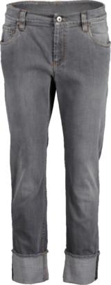 Brunello Cucinelli Cuffed Garment Dyed Jean