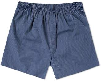 Sunspel Dobby Stripe Boxer Short