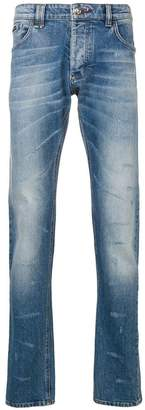 Philipp Plein distressed effect slim-fit jeans