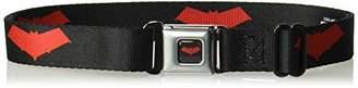 Buckle-Down Men's Seatbelt Belt Red Hood Kids