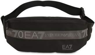 Ea7 Logo Nylon Belt Bag