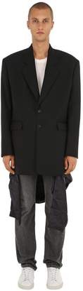 Y/Project Oversized Wool Jacket W/ Visible Lining