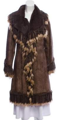 Rabbit & Raccoon Fur Coat