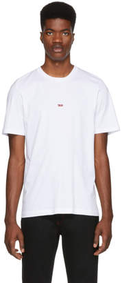 Helmut Lang White Paris Taxi T-Shirt