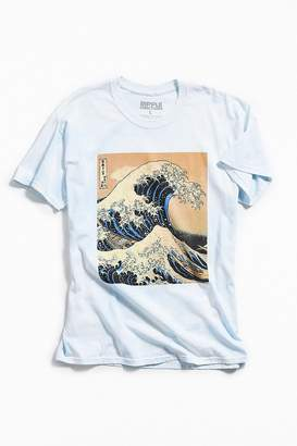 Urban Outfitters Dyed Hokusai Wave Tee