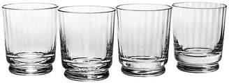 Reed & Barton Set of 4 Austin DOF Glasses - Clear