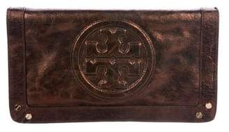 Tory Burch Metallic Leather Shoulder Bag