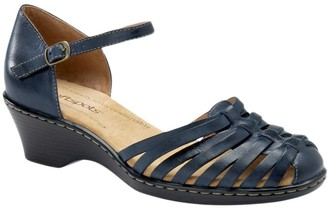 Softspots Comfortiva Leather Huarache Sandals -Tatianna