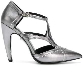 Just Cavalli cut out panel pumps