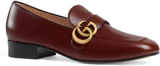Gucci Marmont 25mm Leather Loafers