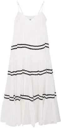 Nicholas Voile Tiered Midi Dress