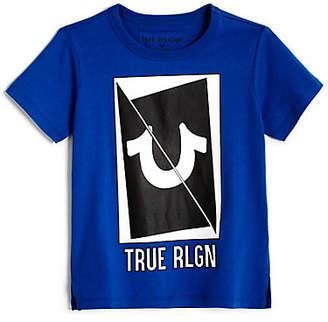 True Religion LONG SLICED HS TEE