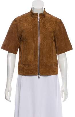 Theory Suede Short Sleeve Jacket w/ Tags