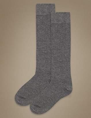 Marks and Spencer 2 Pair Pack Soft Knee High Socks