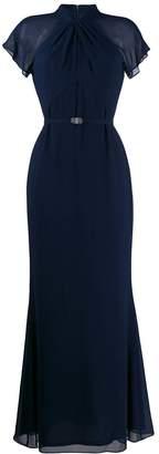 Lauren Ralph Lauren rhinestone belt gown