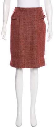 Luca Luca Wool-Blend Knee-Length Dress