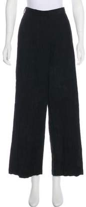 Hache High-Rise Wide-Leg Pants