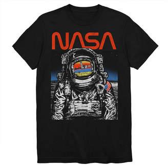Novelty T-Shirts NASA Walking The Moon Graphic Tee