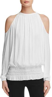 936be36244dcea Ramy Brook White Cold Shoulder Women s Tops - ShopStyle
