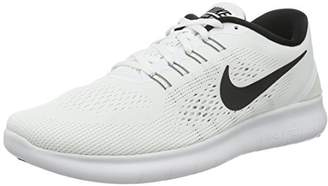 Nike Women's WMNS Free RN Running Shoes, White (White/Black)