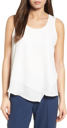 Nic+Zoe Promenade Asymmetrical Double Layer Tank