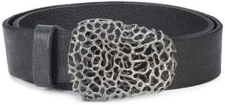 Ivo Scunzani cage buckle belt