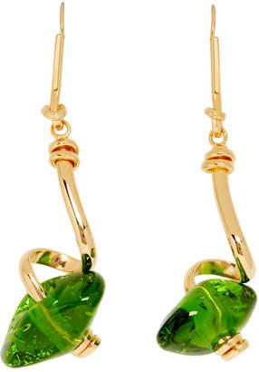 Marni Green Glass Earrings