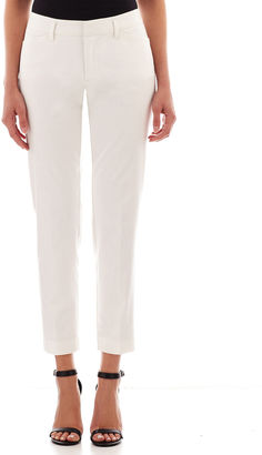 JCPenney Stylus Crossover Ankle Pants - Tall $48 thestylecure.com