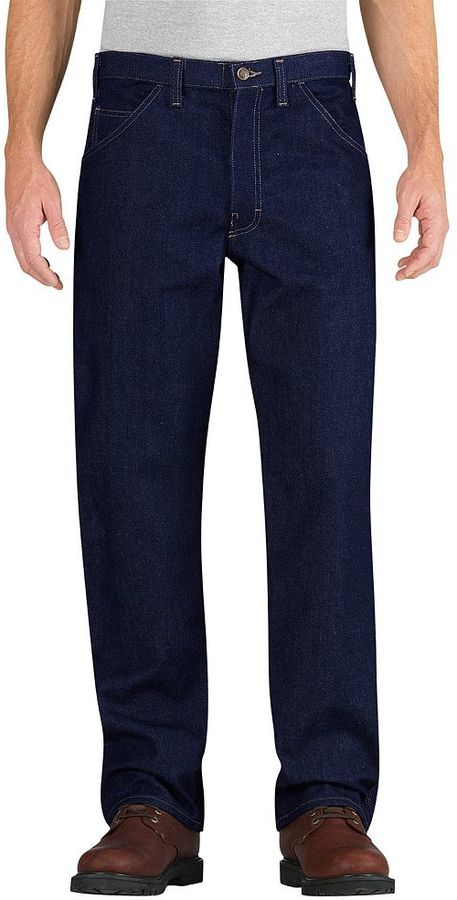 Dickies Dickies Relaxed-Fit Straight-Leg Flame-Resistant Carpenter Jeans - Men