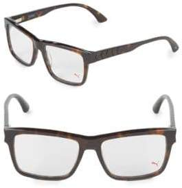 Puma 17MM Square Tortoiseshell Optical Glasses