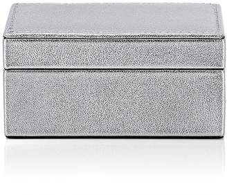 Barneys New York Grained Leather Small Box