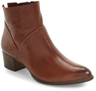 Women's Paul Green Block Heel Bootie $359 thestylecure.com