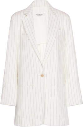 Philosophy di Lorenzo Serafini Pinstripe Cotton-Blend Blazer