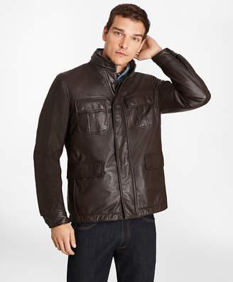Brooks Brothers Reversible Leather Jacket