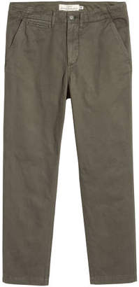 H&M Cotton Twill Chinos - Green