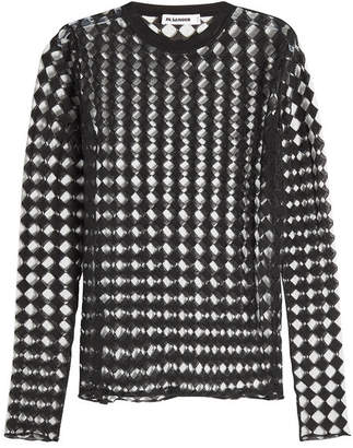 Jil Sander Semi-Sheer Cotton Pullover